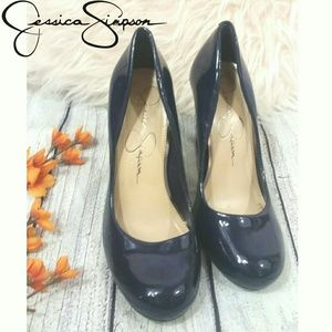 Navy Blue Jessica Simpson CALIE Pump heels
